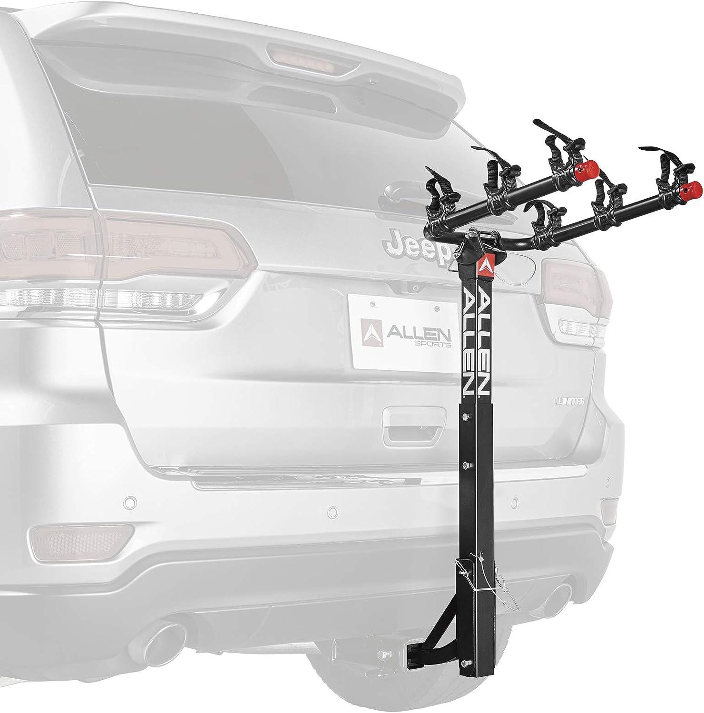 Amazon.com: Allen Sports Deluxe 3-Bike Hitch Mount Rack, Model 532RR-R