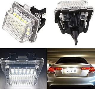 2014/2/nd R56/R57/R58/R59 Newsun OEM Fit 18smd 3528/Xenon Blanc LED Ampoules de plaque dimmatriculation pour 2006