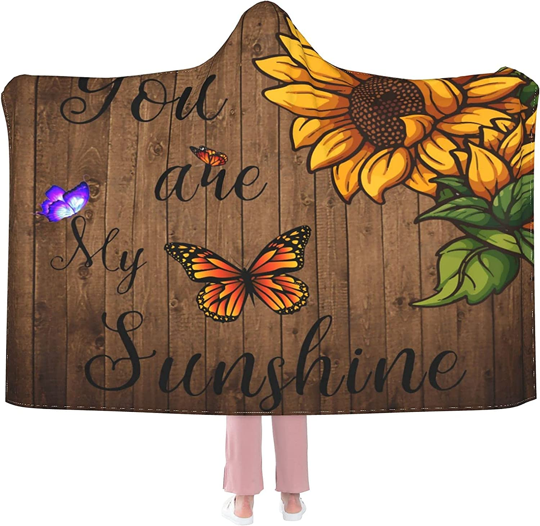 Blanket Hoodie Sunshines Butterfly Special Regular store price Weara Throw Sunflower