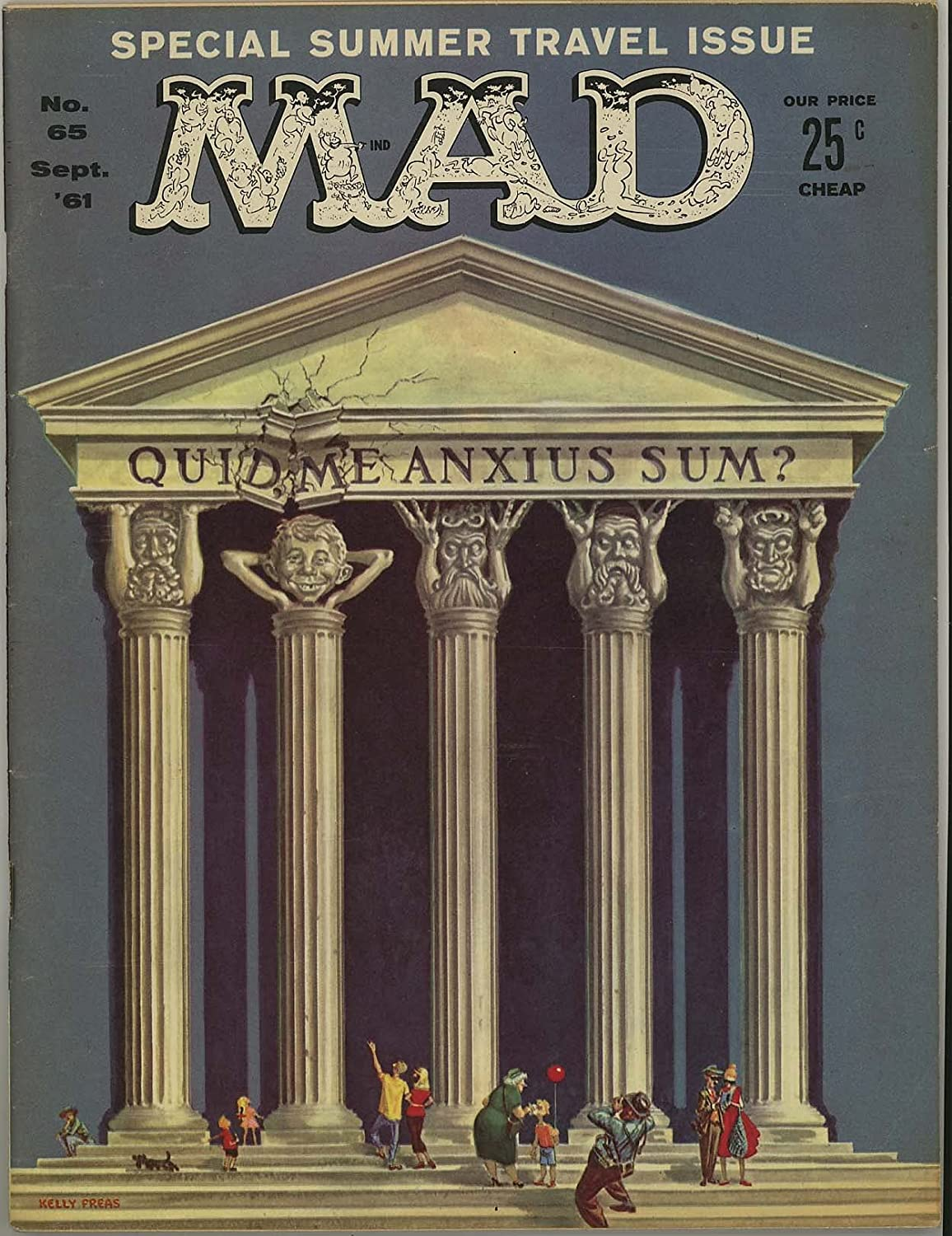Mad Magazine No. 65 - Now free shipping September 1961 Max 74% OFF
