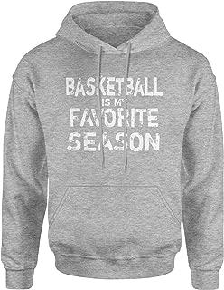 Expression Tees Basketball is My Favorite SeasonUnisex Adult Hoodie