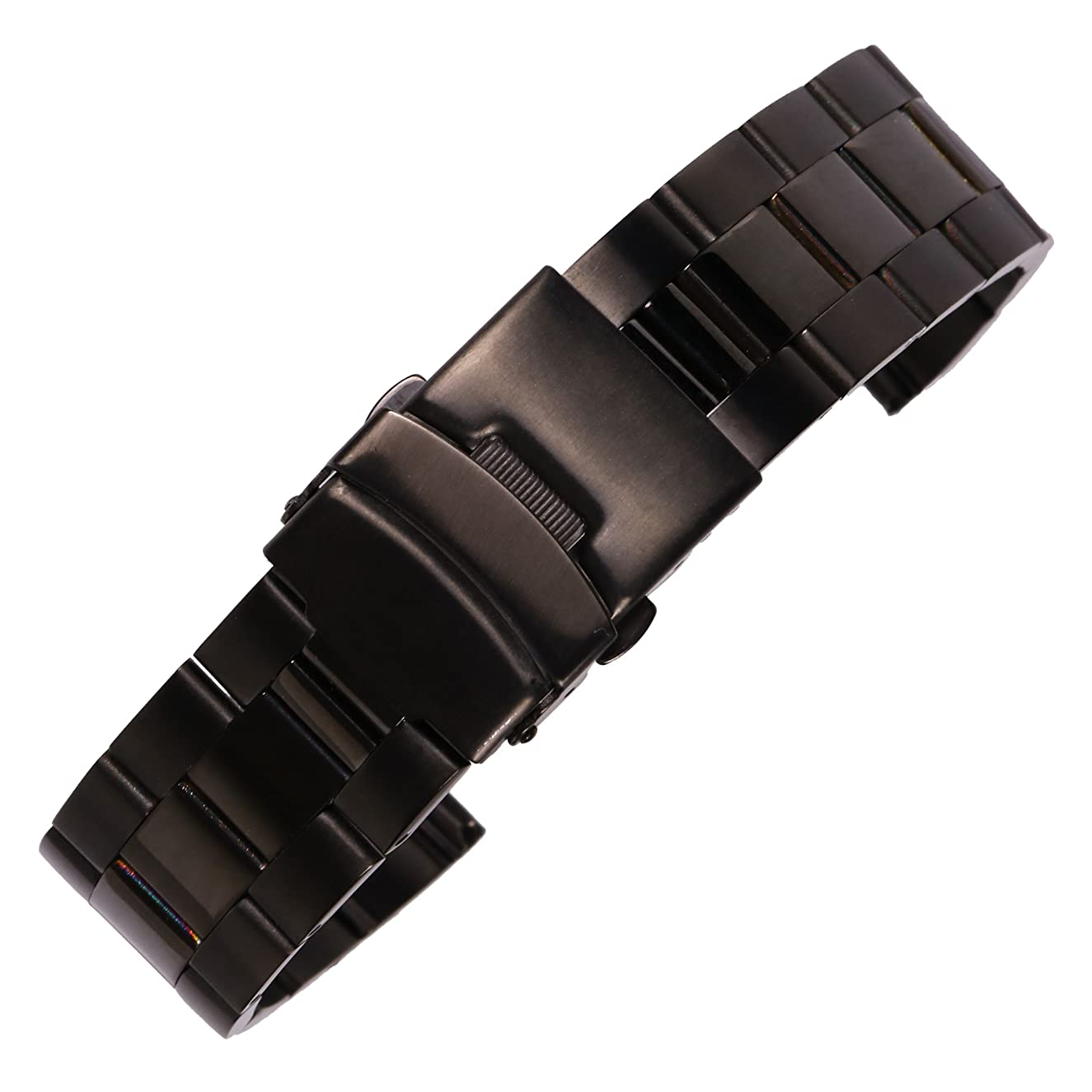 Polish Shinning Watch Belt Solid 304 Stainless Steel Watch Band for Quick Release Spring Bar