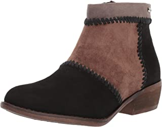 Roxy Devlin Suede Ankle Bootie Boot womens Ankle Boot