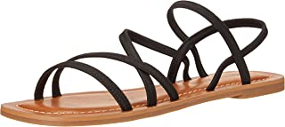 Lucky Brand Footwear Women's Bizell Sandal, Black/Black, 6