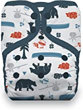Thirsties Natural One Size Pocket Cloth Diaper, Snap Closure, Adventure Trail