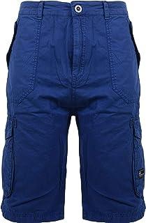 991d7c4aaa Crosshatch Mens Cargo Combat Cotton Twill Shorts Summer Casual Long Half  Pants