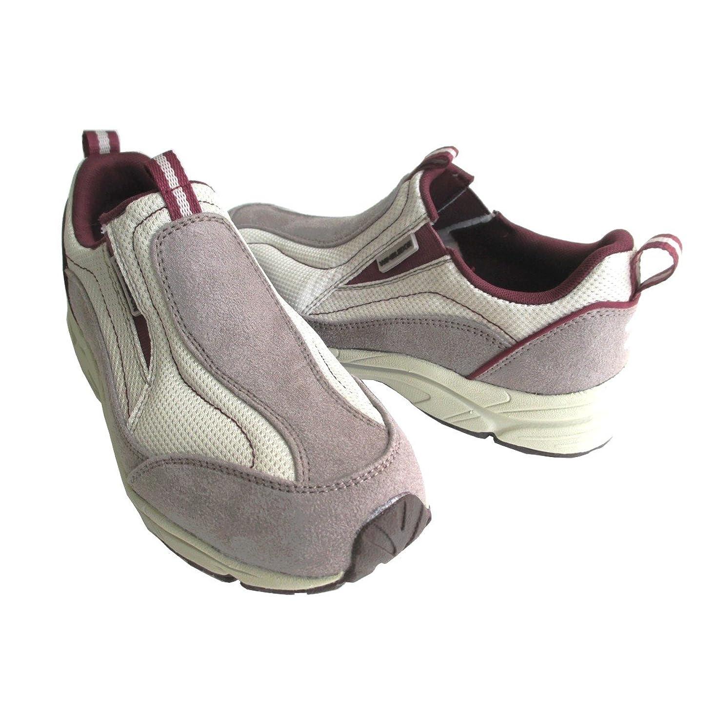 魚堂々たるフロント[アサヒ ウインブルドン] asahi WIMBLEDON L-031 レディース スニーカー スリッポン 軽量 ウォーキング 仕事靴