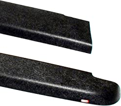 Wade 72-40621 Truck Bed Rail Caps Black Smooth Finish without Stake Holes for 1993-2011 Ford Ranger (Except STX) & 1994-1997 Mazda B-Series Pickup with 6ft bed (Set of 2)