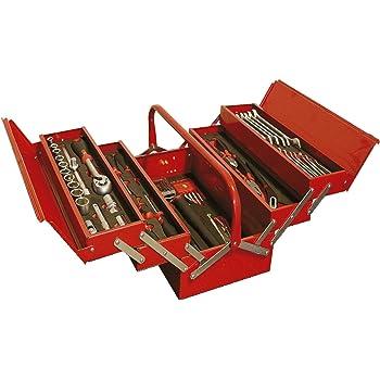 Caja de Herramientas Completa 5 Compartimentos con 99 piezas y ...