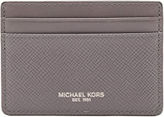 Michael Kors Women's Harrison Credit Card Leather Wallet Baguette