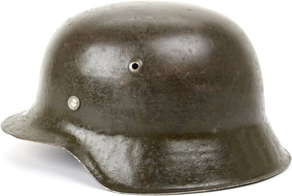 Original German WWII M42 A surprise price is realized Stahlhelm Las Vegas Mall Helmet- Shell Steel Size 66