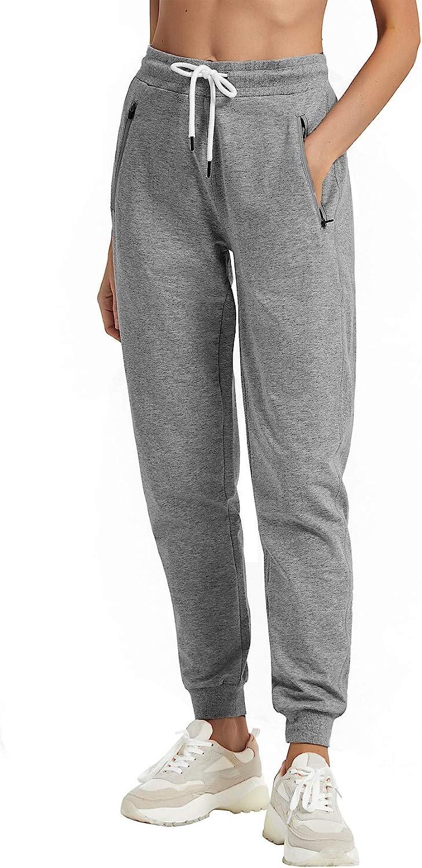 PULI Long-awaited Women Workout Sweatpants Cotton Superlatite Splicing Loun Ribber Jogger