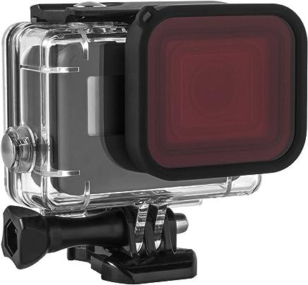 Kupton Red Filter, Underwater Camera Diving Waterproof Red Color Correction Filter for Kupton GoPro Hero 7/6 / 5 Housing Case