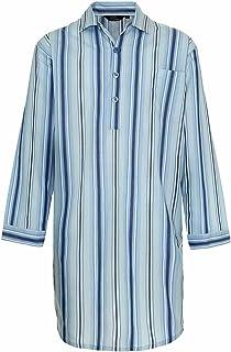 Mens Champion Westminster Stripe Nightshirt Sleepwear Sleepwear Light-Blue M