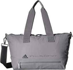 e460f5a92d Charcoal Solid Grey Black White. 14. adidas by Stella McCartney. Small  Studio Bag