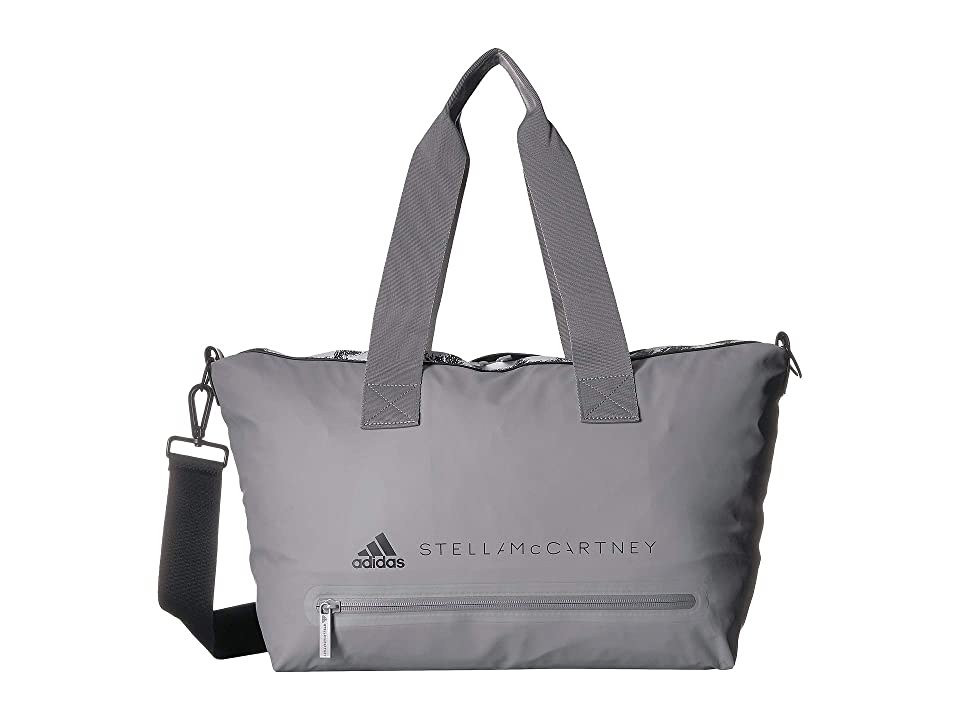 adidas by Stella McCartney Small Studio Bag (Charcoal Solid Grey/Black/White) Bags