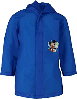Group Ruz Mickey Mouse Boy's Waterproof Hooded Raincoat