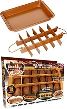 Gotham Steel Brooklyn Brownie Nonstick Baking Pan