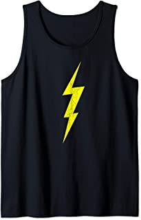 Lightning Bolt Electrical Storm Graphic Icon Tank Top