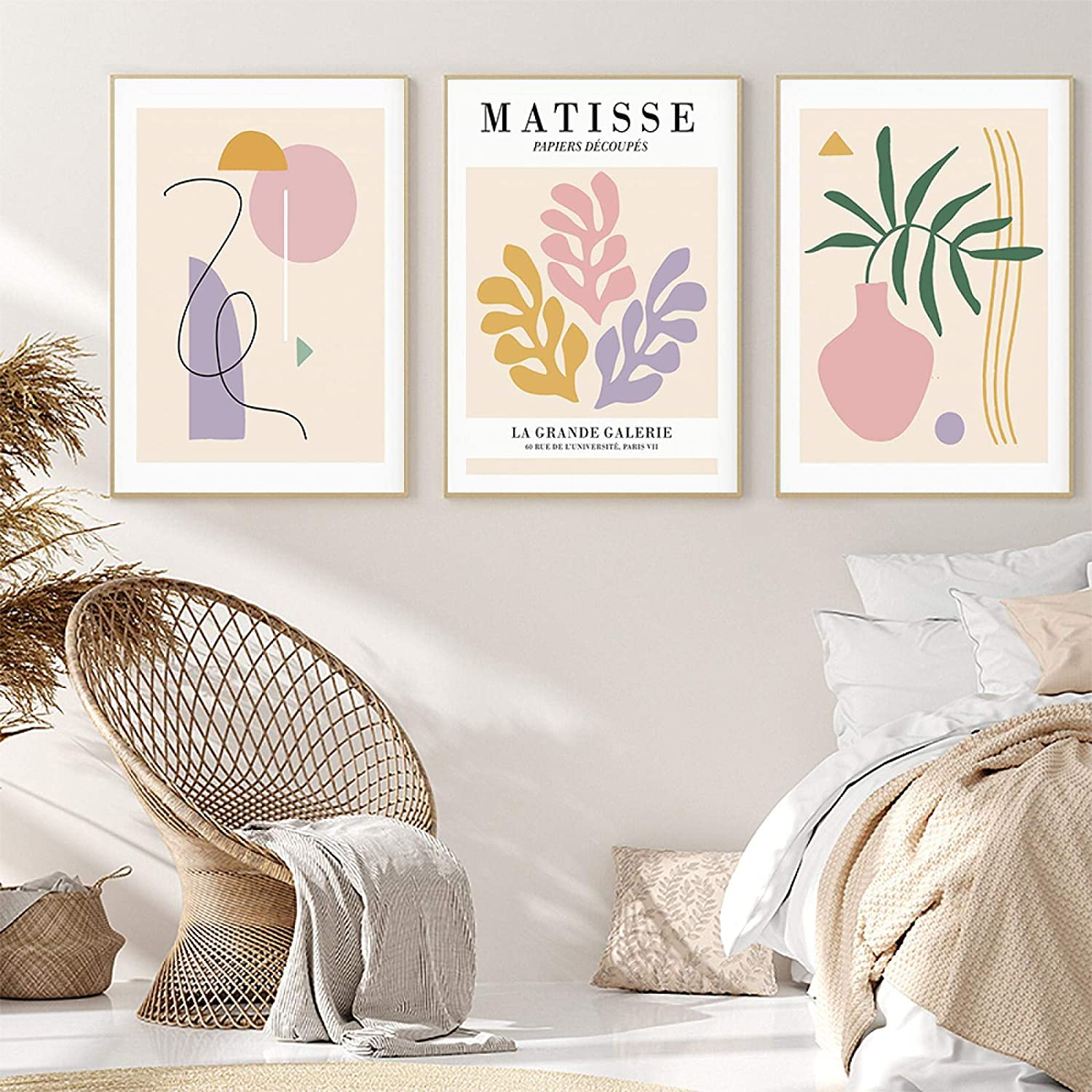 YQLKC Matisse Max 52% OFF Posters and Prints Plant Geometric Abstract Flower free shipping