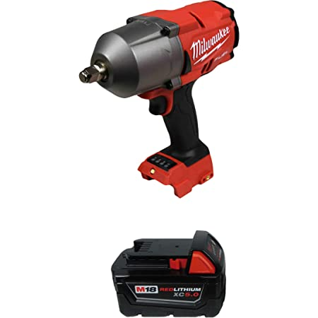 "Milwaukee 2767-20 1/2"" High Torque Impact Wrench w/ 48-11-1850 5.0Ah Battery"