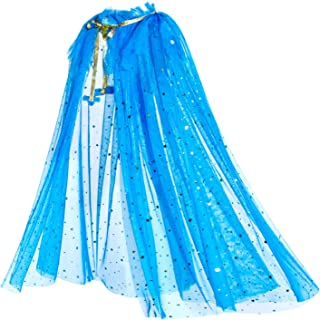 Princess Snow Queen Elsa Cinderella Cape Cloaks for Little Girls Dress Up