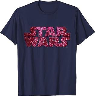 Pink Logo Faux-Glitter Print T-Shirt T-Shirt