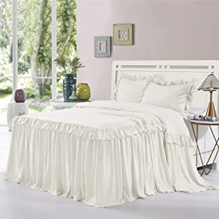 drop skirt bedspread
