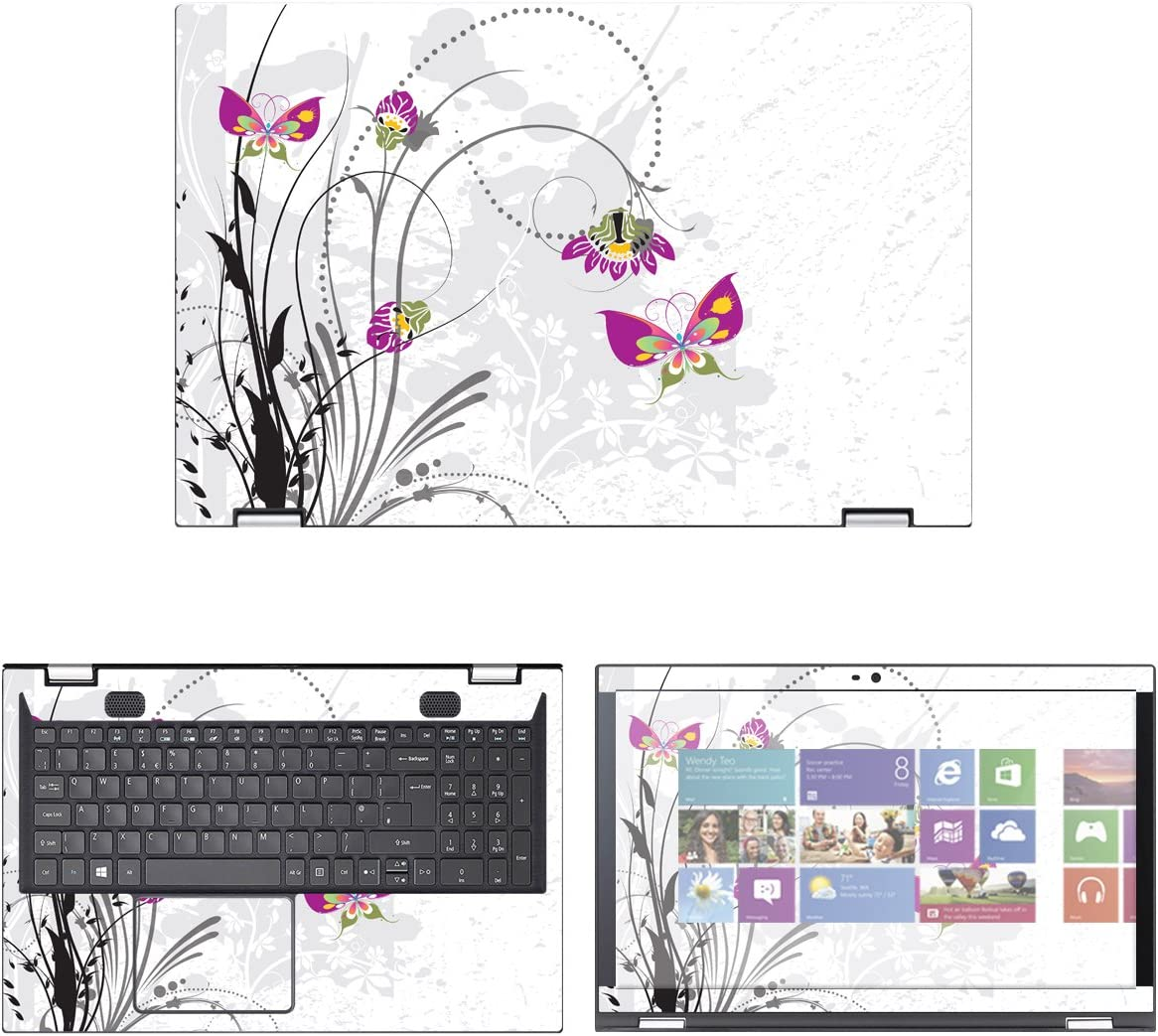 Decalrus - Protective Decal Skin Sticker Spin for Acer Max New product!! 40% OFF SP315-5 3