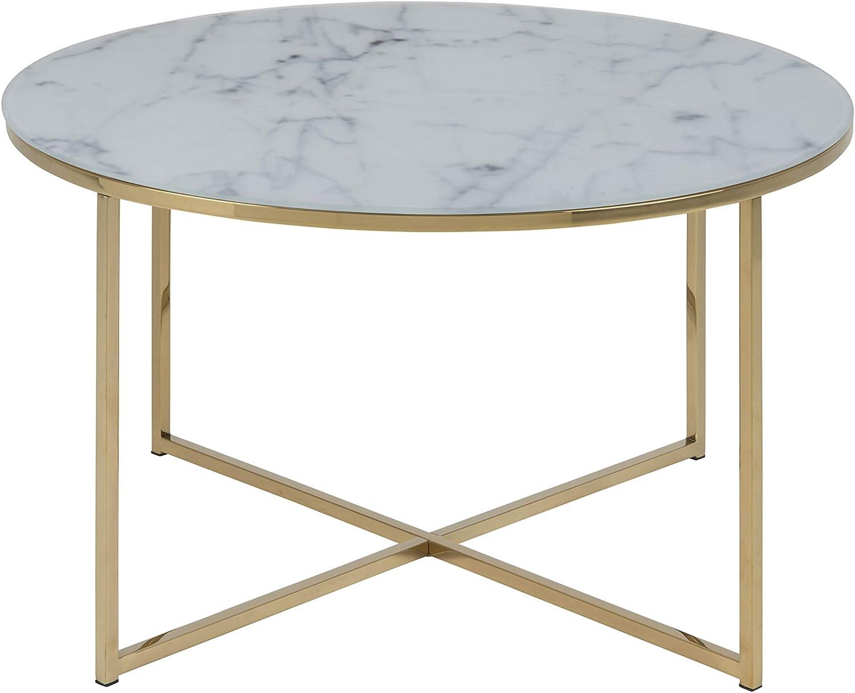 AC Design Furniture Alisma 57547 Coffee Table L B H Approx. 80 80 45 cm