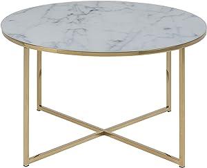 AC Design Furniture 57547 Alisma - Tavolino da salotto, L/B/H, ca. 80/80/45 cm