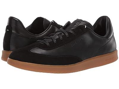 Cole Haan Grandpro Turf Sneaker (Black Tumbled/Black Suede) Men