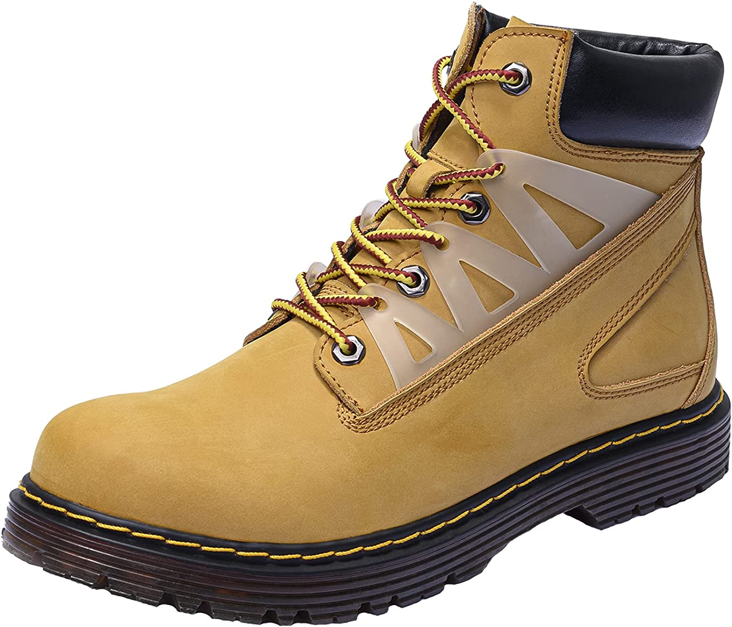 Men's Max 59% OFF Leather Fashion Boot Casual Outdoor Department store Camping Boots T Hiking