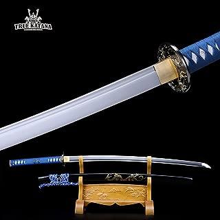 TRUEKATANA Handmade Spring Steel Full Tang Real Katana Japanese Samurai Swords