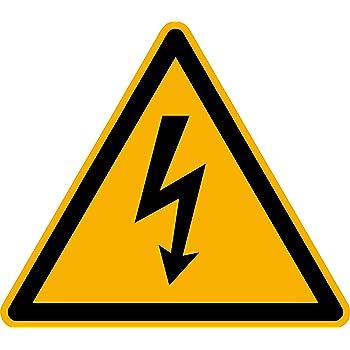 Aufkleber Hinweis auf eine PV-Anlage gemäß DIN VDE 0100