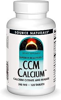 Source Naturals CCM Calcium -- 300 mg - 120 Tablets