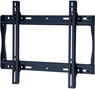 """Peerless SF640P Universal Fixed Low-Profile Wall Mount for 32"""" - 50"""" Displays (Black/Non-Security)"""