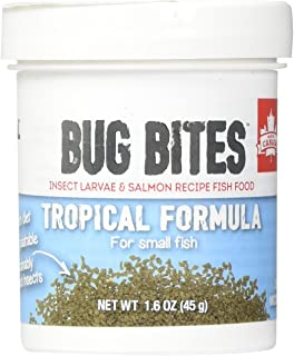 Fluval Bug Bites Tropical Formula Granules for Small Fish