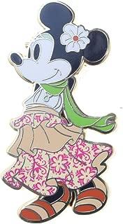 Disney Boho Hula Dancing Minnie Mouse Pin