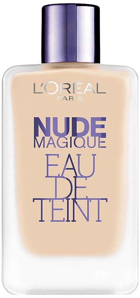 ルネッサンスジョブ彼女のロレアル パリ ヌードマジック オードゥ タン #100