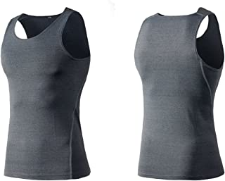 タンクトップ シンプル メンズインナー ノースリーブ ボディビル 筋トレ トレーニングウェア ボーイズ アクテイブシャツ tシャツ Uネック7色Yer