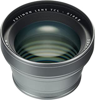 Fujifilm TCL-X100 II Tele Conversion Lens Silver (Compatible with X100F)