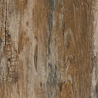 "d-c-fix 346-0478 Decorative Self-Adhesive Film, Rustic Wood, 17"" x 78"" Roll"