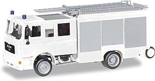 Herpa Miniaturmodelle GmbH- Herpa 012898-MiniKit: camión Man M2000 HLF 20, Bomberos (012898)