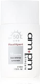 Naruko Ampm RX10 Peptide 50ml Total-Defense Sunscreen SPF50, 1.75 Fluid Ounce
