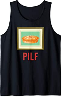 PILF Pie I'd Like to F Apple Pie Picture Frame Funny Tank Top