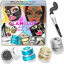 GLAMGLOW The Art of Glowing - The Ultimate Glow Set - SUPERMUD, THIRSTYMUD, GRAVITYMUD GOLD & GRAVITYMUD #GLITTERMASK (Full size 1.7 ounce jar of each)