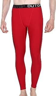 OUTOF Men's Compression Pants Baselayer Cool Dry Sports Tights Leggings Running Yoga Rashguard MPL5117 / MPL5118