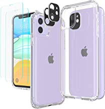 Temdan iPhone 11 Case with 2 Pack Tempered Glass Screen...