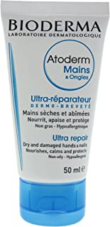 Bioderma Atoderm Nourishing and Repairing Hand Cream for Dry and Damaged Hands - 1.7 FL.OZ.